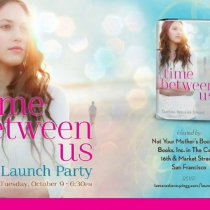 Time Between Us Launch Invite