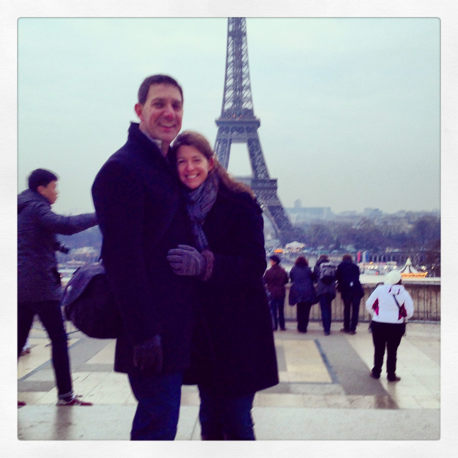 At the Eiffle Tower