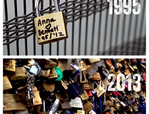 Paris Love Locks (The Whole Lock Thing…)