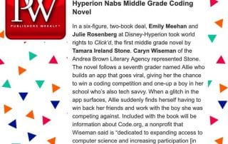 Publishers Weekly Clickd