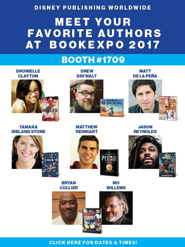 BEA 2017 Disney Authors