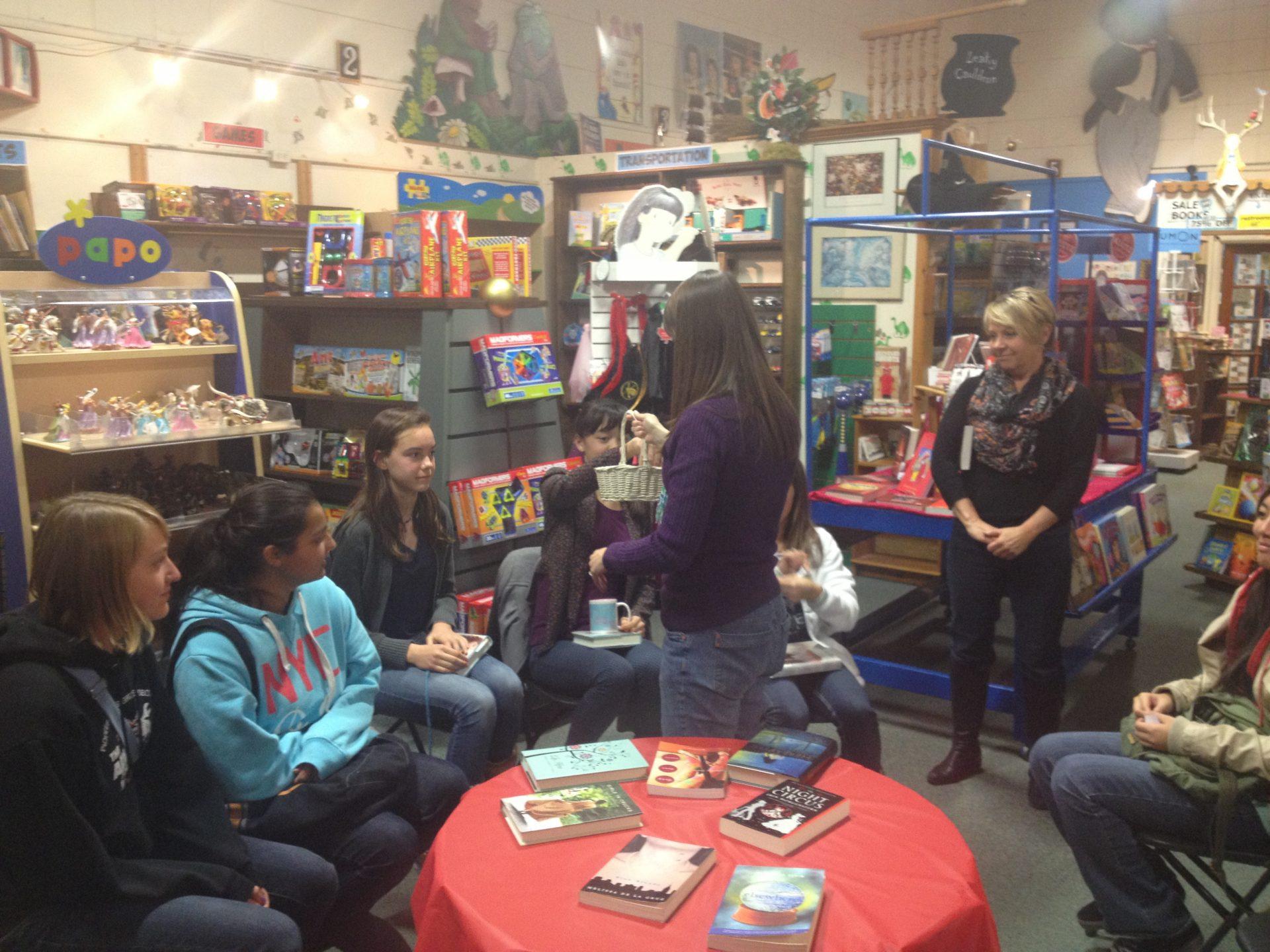 Hicklebee's Teen Book Club