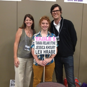 Table 5: Tamara Ireland Stone, Jessica Khoury, Lex Hrabe