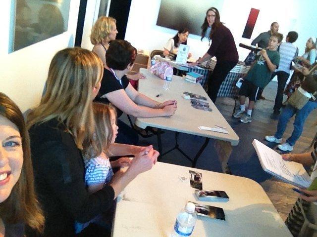 Signing Books Litquake