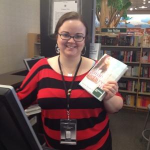 Valerie at Barnes & Noble