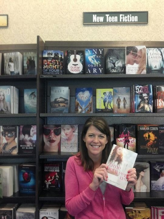 Time Between Us at Barnes & Noble
