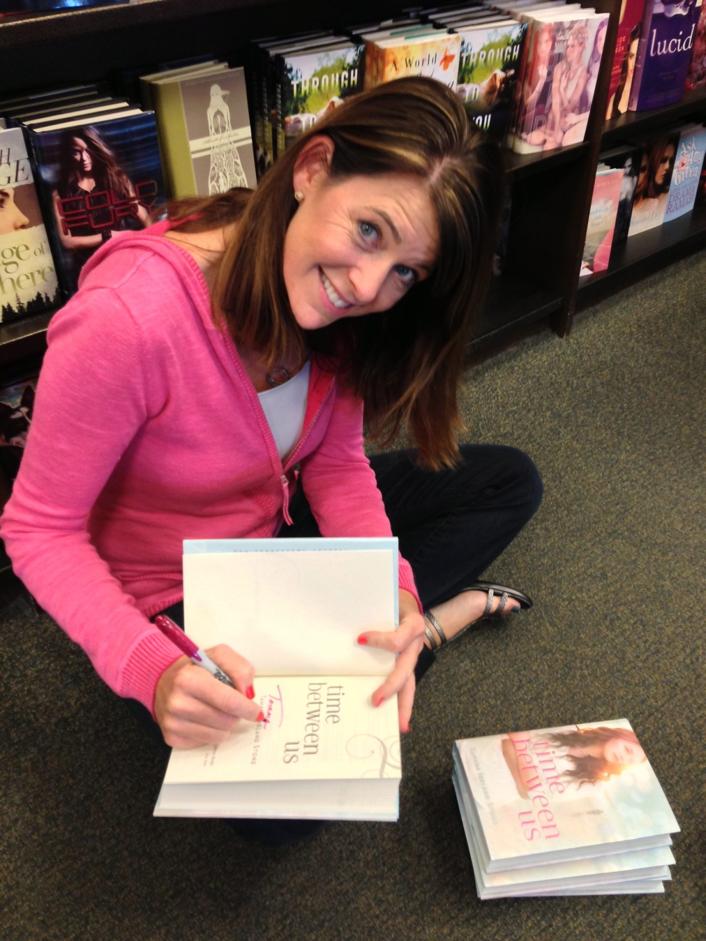Signing Books at Barnes & Noble