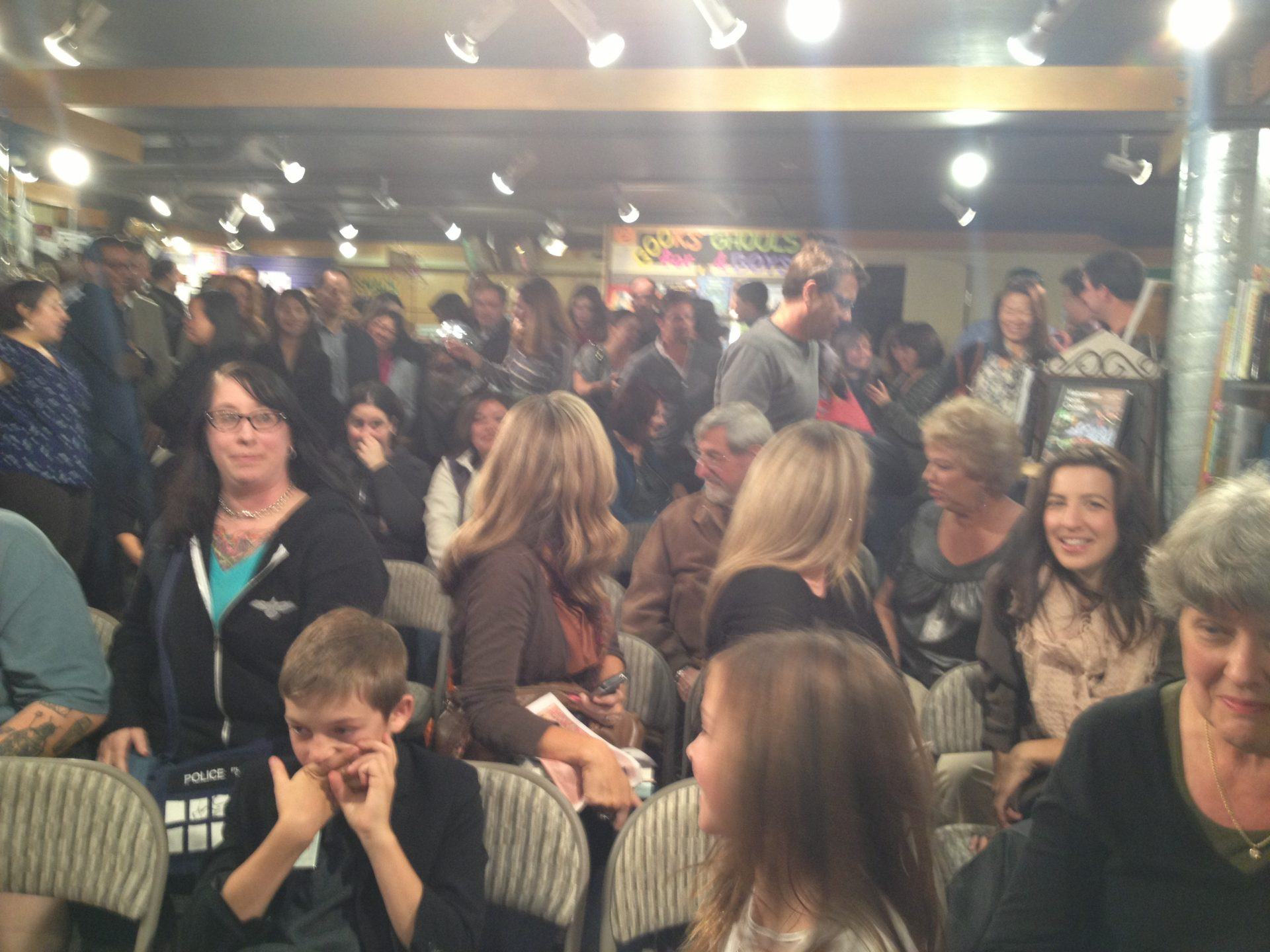 Books Inc. Crowd