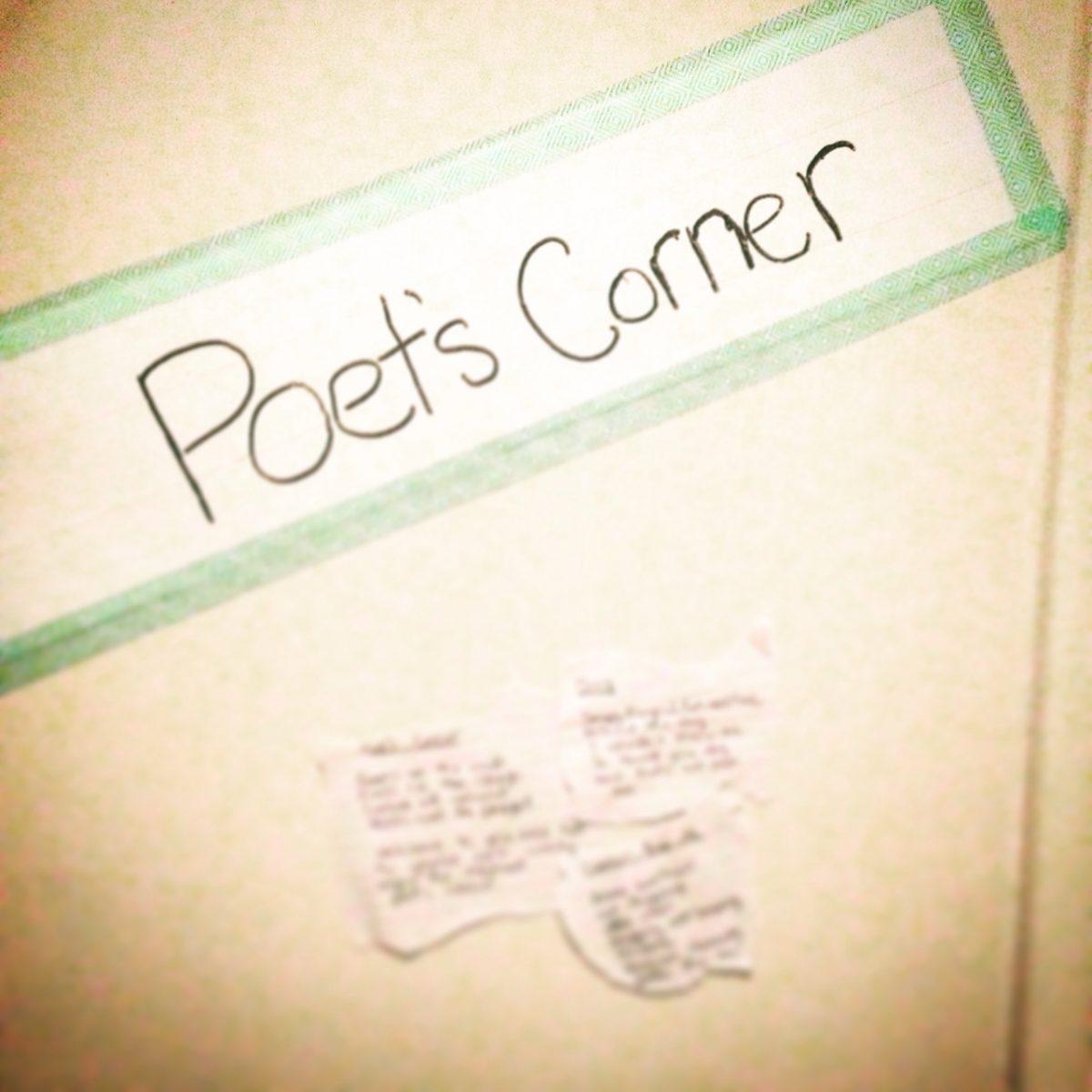 Sabrina's Poets Corner
