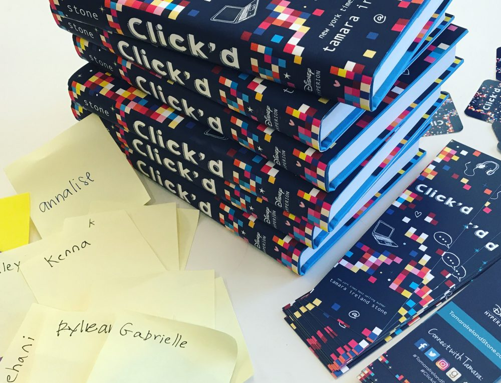 Click'd Review in School Library Journal