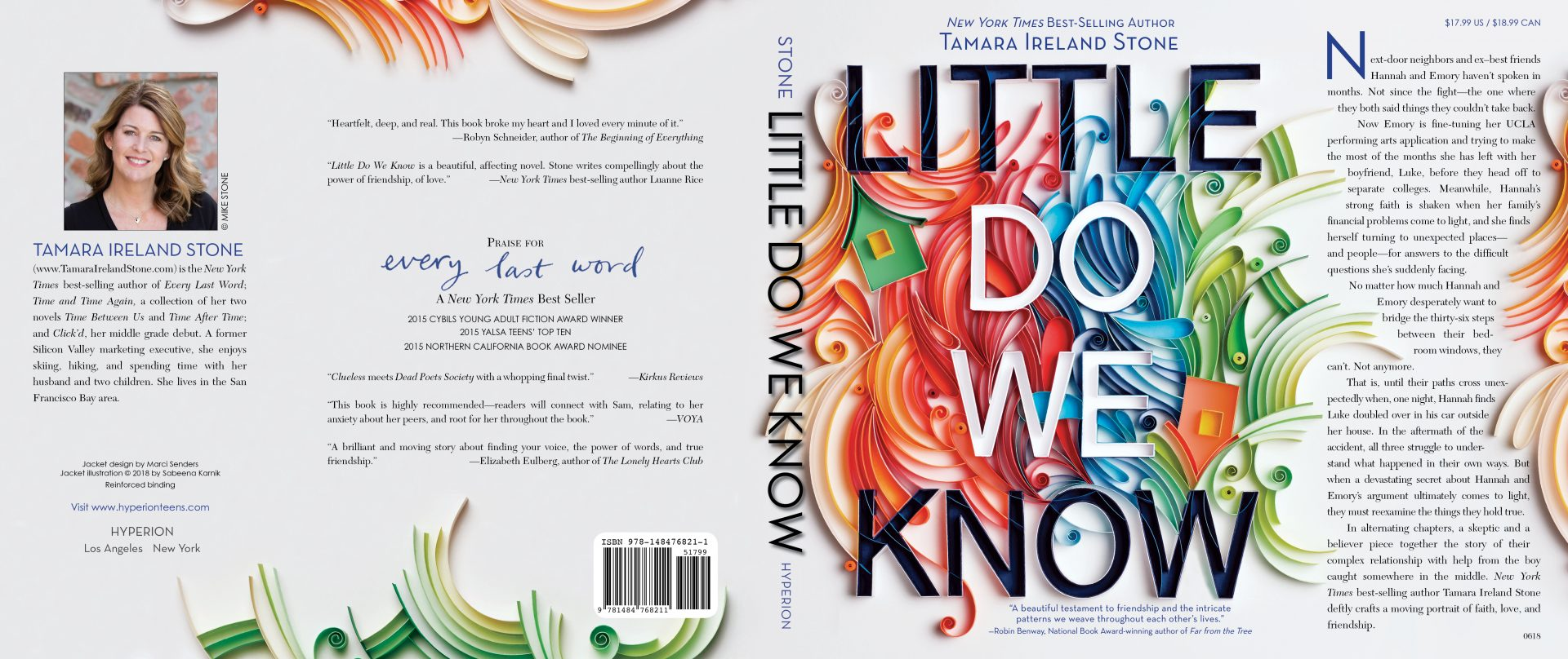 Little Do We Know Book Jacket