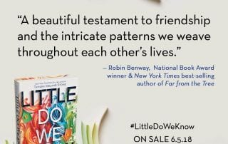 Little Do We Know Blurb - Robin Benway