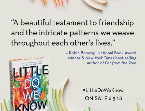 First Blurb for Little Do We Know (+ Giveaway!)