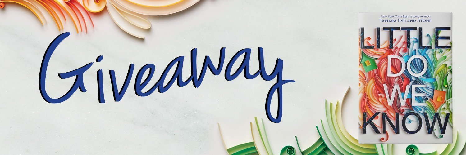 Little Do We Know Giveaway